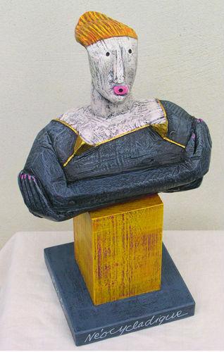 Buste néocycladique 2005 après J.C